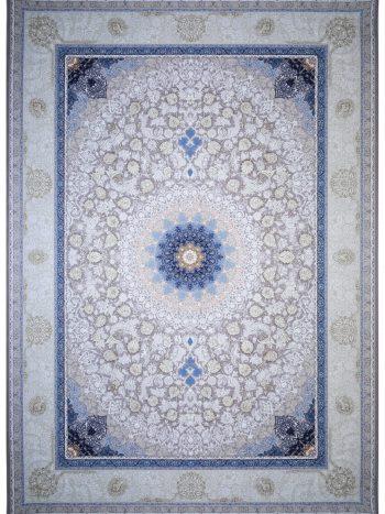 فرش ۱۲۰۰ شانه برجسته نقره ای | کد A1034NO