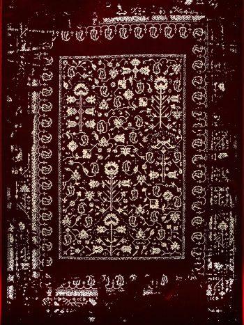 فرش فانتزی قرمز